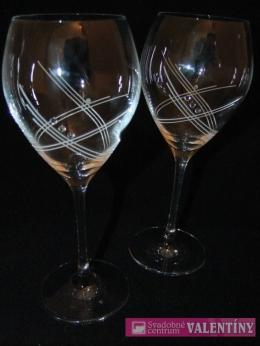 Svadobné poháre na víno