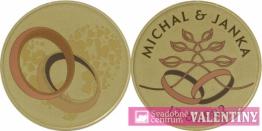 pamätná minca  svadobná