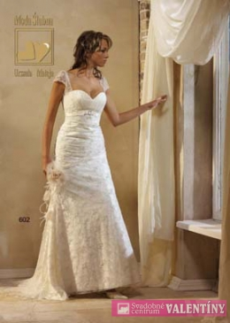 svadobné šaty krajkové biele