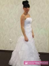 svadobné šaty biele