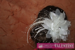 svadobná ozdoba do vlasov