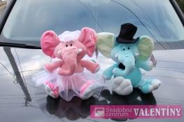 sloníkovia na auto