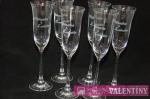 Svadobné poháre pre svadobčanov