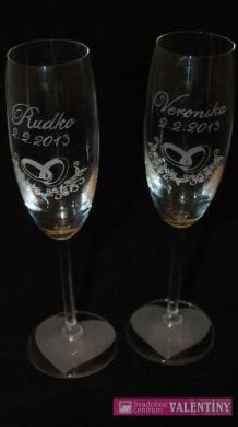 Šampaň poháre cena za pár
