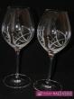 Svadobné poháre použité svarowské komponenti