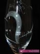 Svadobné poháre  zdvojené srdce ,swarovské kamienky