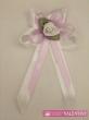 svadobné pierko bielo fialové