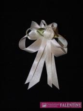 svadobné pierko biele