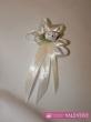 svadobné pierko bielo maslové