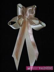svadobné pierko krémovo kapučínové