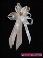 svadobné pierko biele kvet malý zlatý