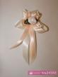 svadobné pierko bielo marhuľové