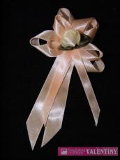 svadobné pierko marhuľové kvet krémový