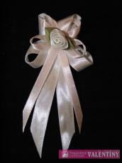 svadobné pierko bielo ružové