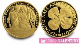 pamätná minca zlatá svadobná