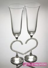 Exkluzívne svadobné poháre