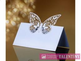 menovka stojanová motýľ
