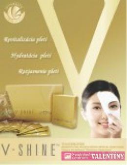 pleťová maska V-shine