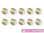 obrúčky papierové zlaté 10kusov