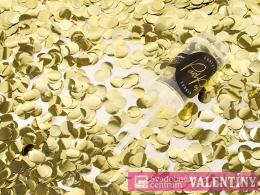 Push popp konfety zlaté
