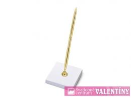 svadobné pero zlaté