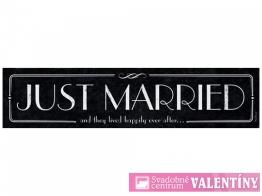 špz ,,Just Married,, čierna