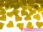 konfety srdcia zlaté