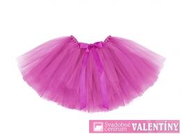 TuTu sukňa ružová 50x25cm