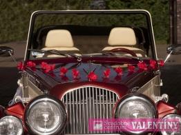Girlanda na auto červená 3ks