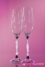 Luxusné svadobné poháre