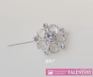 luxusný krištáľový náhrdelník široký