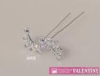 luxusný krištáľový náhrdelník vlnka