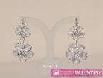 luxusný krištáľový náhrdelník