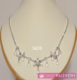 luxusný krištáľový náhrdeľník