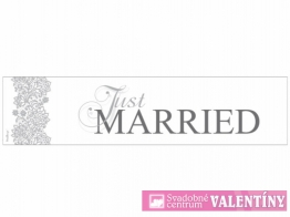 Svadobná špz Just Married