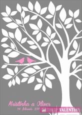 rodinný strom vtáčiky